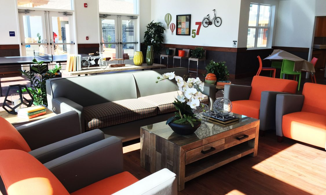 Community Room Affordable Housing